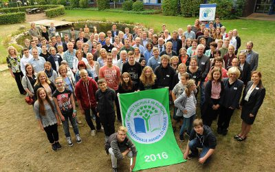 """Erneute Auszeichnung als """"Umweltschule in Europa/Internationale Agenda 21-Schule"""""""