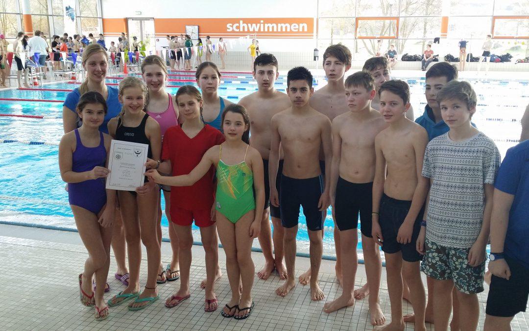 GSS holt Gold, Silber und Bronze beim Jahnschwimmen