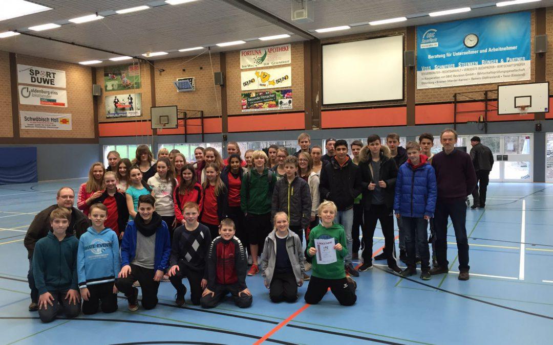 Osnabrücker Tischtennisspieler/innen im Bezirk Spitze