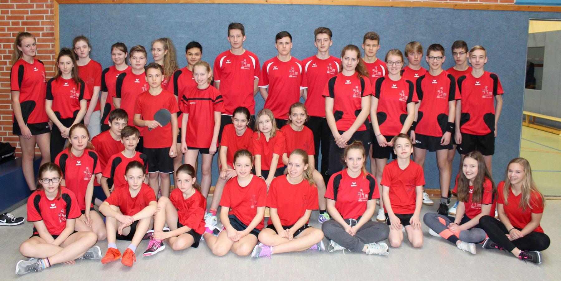 GSS Tischtennisspieler/innen glänzen beim JtfO-Bezirksentscheid