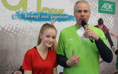 AOK-Sports-Tour zu Gast in der Gesamtschule Schinkel