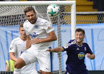 Kamer Krasniqi beim Spiel der dritten Bundesliga zwischen dem VFL Osnabrück und SF Lotte