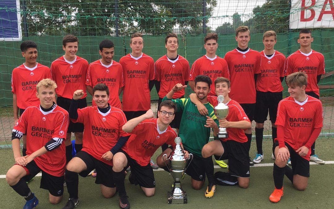 Barmer-Cup 2017: Titel-Hattrick für die GSS