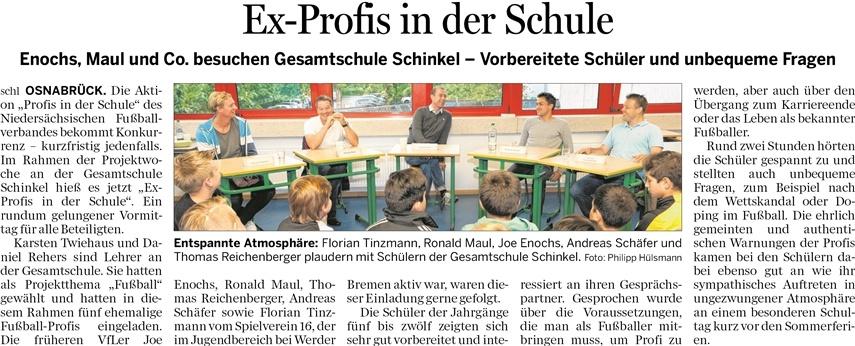 Ex-Profis an der GSS