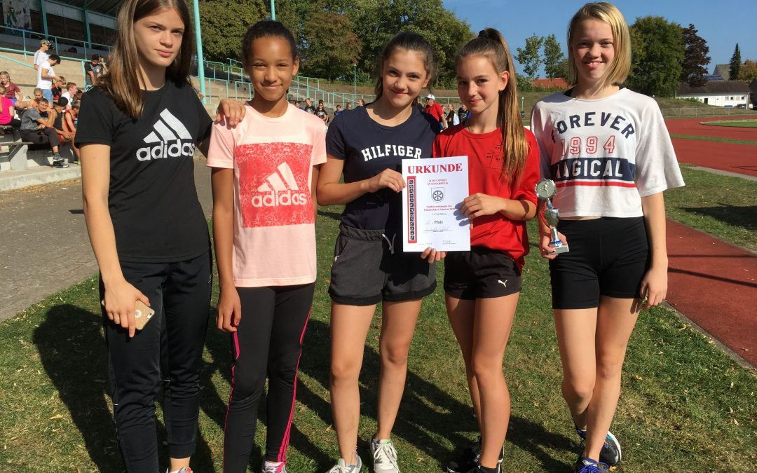 Erfolgreiche GSS-Athleten beim 35. Staffeltag der Osnabrücker Schulen