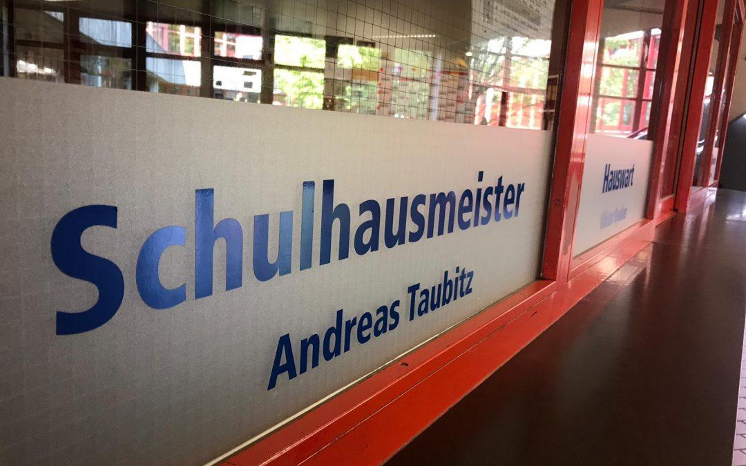 Interview mit dem Hausmeister Andreas Taubitz