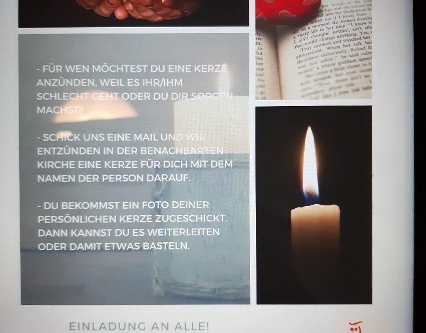 """""""Eine Kerze für…"""""""